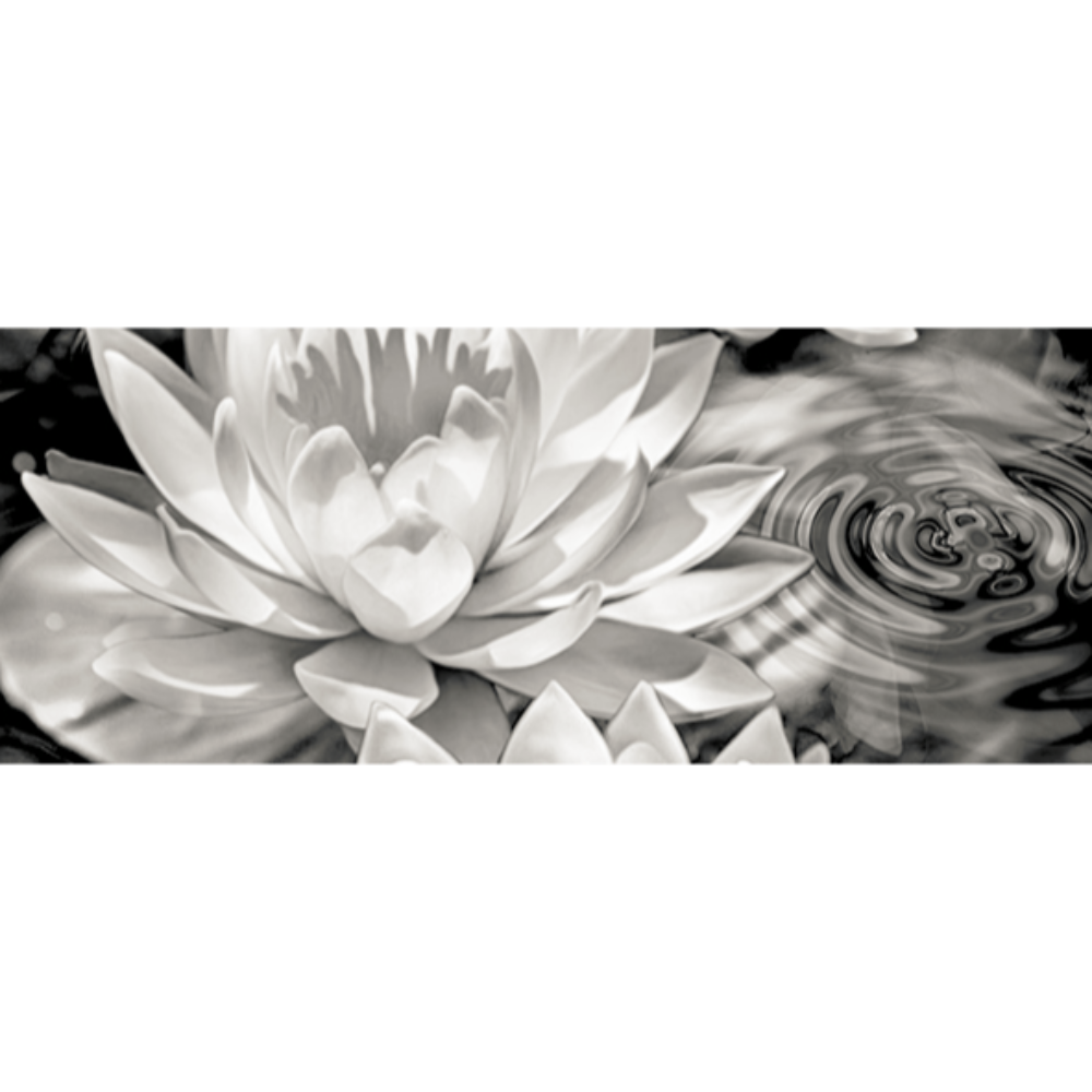 Faianta ceramica Keramin Elegy 1-tip 2, lucioasa, stil elegant, alb/negru, 20 x 50 cm imagine 2021 mathaus