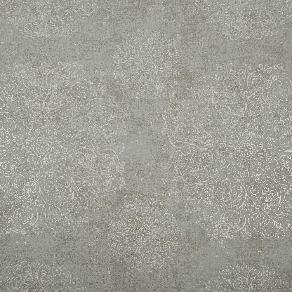 Tapet Indian Summer vlies 218555 gri, 10 x 0,53 cm imagine MatHaus.ro