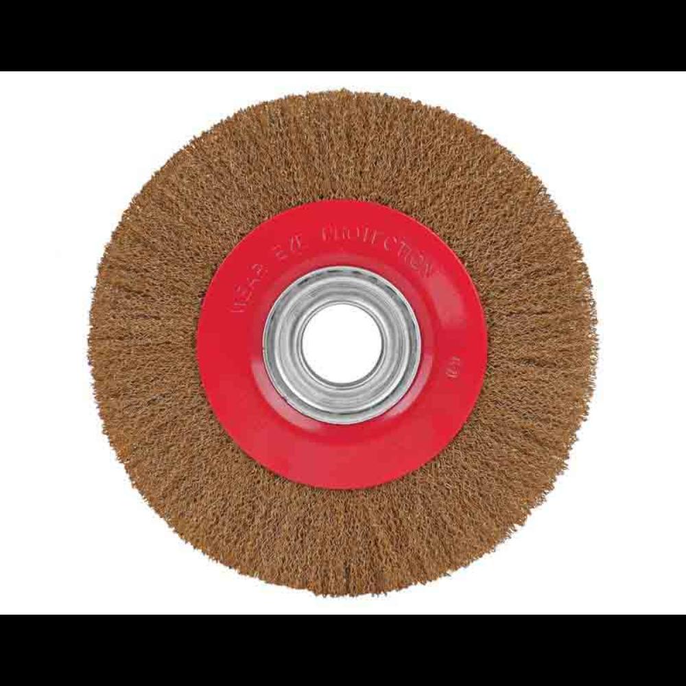 Perie circulara 8/200 mm(20), cu peri din otel mathaus 2021