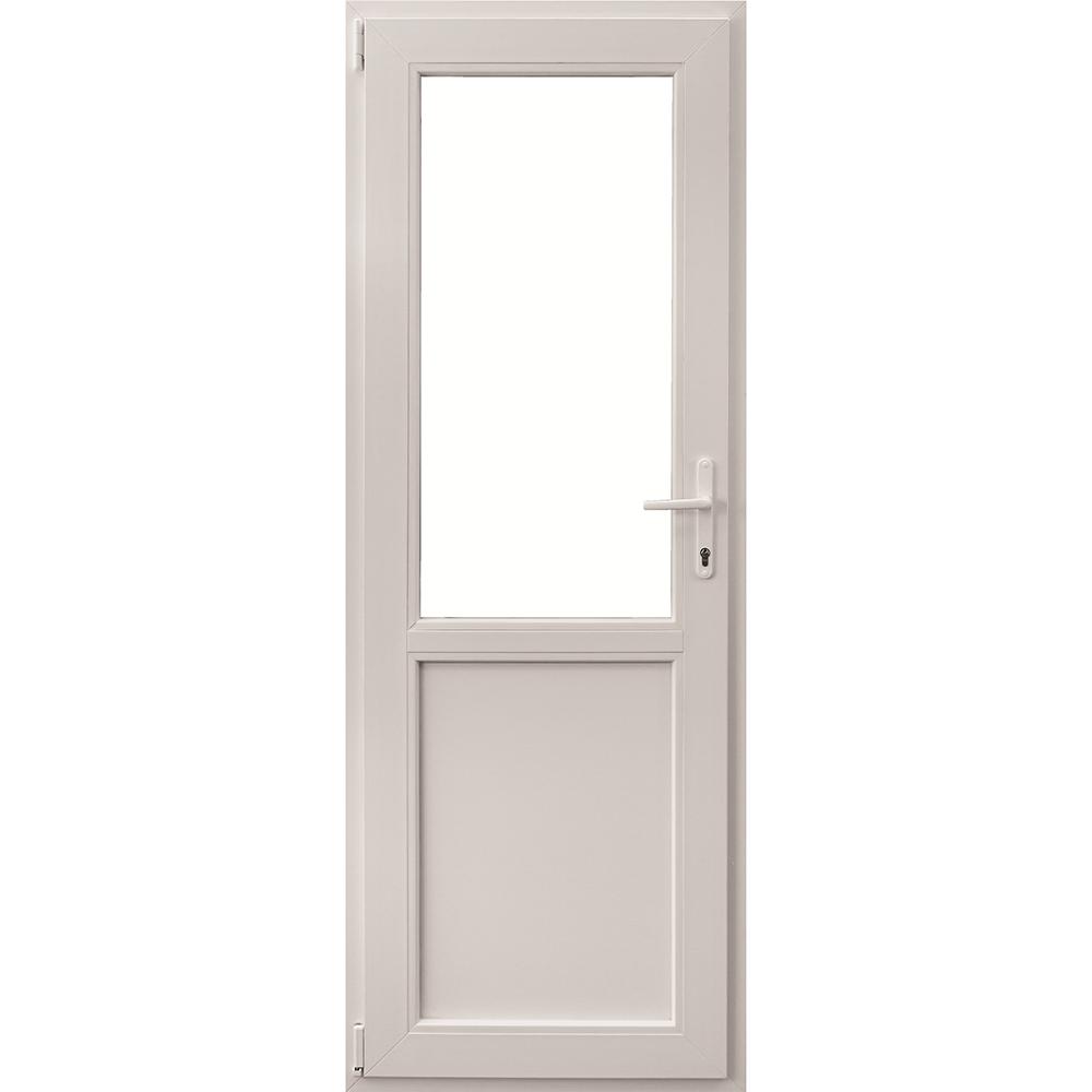 Usa PVC secundara, alba, 76 x 204 cm, stanga imagine 2021 mathaus