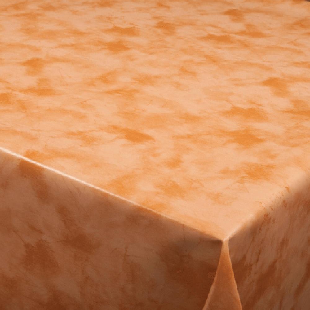 Fata de masa, model uni, pvc, portocaliu,140 cm