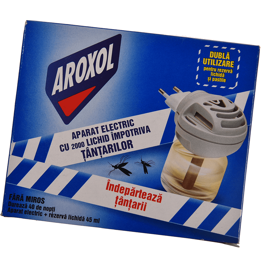 Aparat electric Aeroxol cu rezerva lichida 45 ml