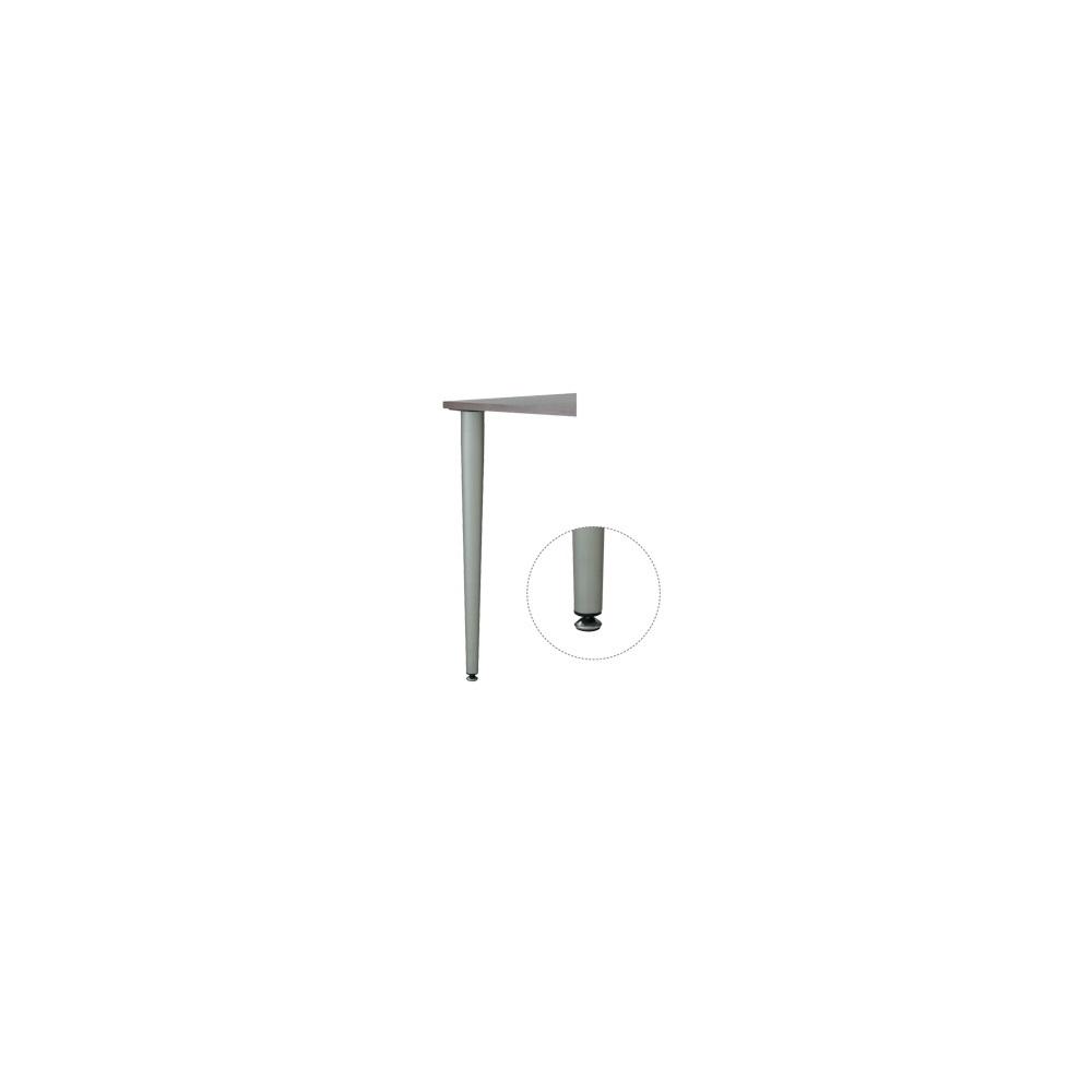 Picior masa reglabil, cromat, H 710-730 mm imagine 2021 mathaus