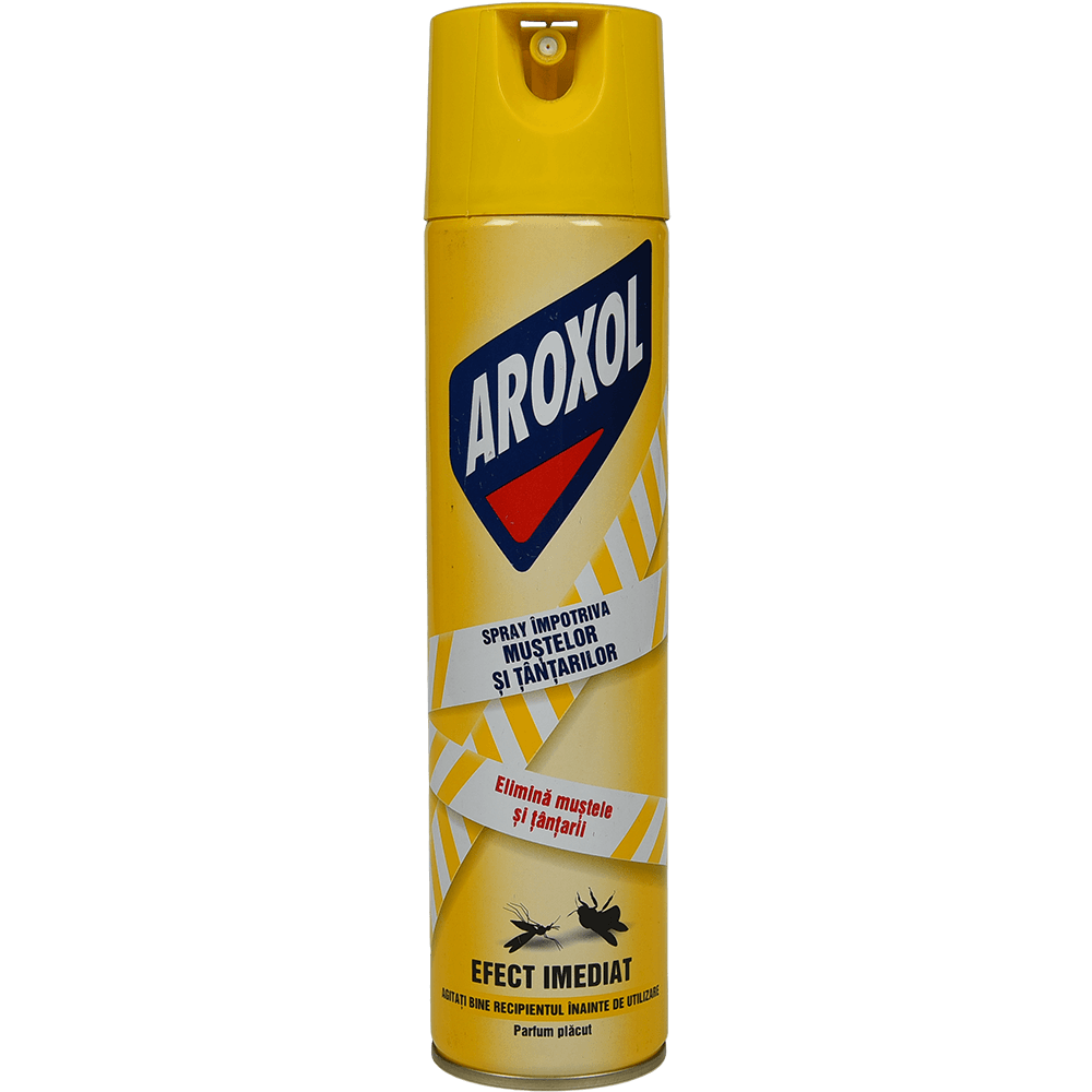 Spray muste / tantari Aroxol, efect imediat, 400 ml imagine 2021 mathaus