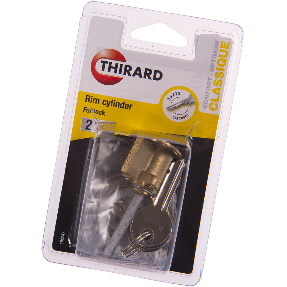 Cilindru pentru broasca aplicata, Thirard RIM, alama, 3 chei imagine 2021 mathaus