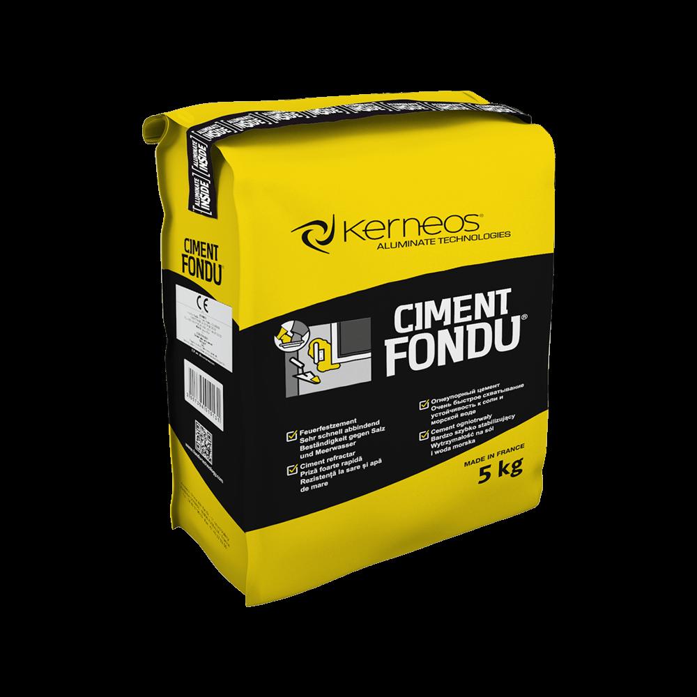 Ciment aluminos Fondu, intarire rapida, 5 kg imagine MatHaus