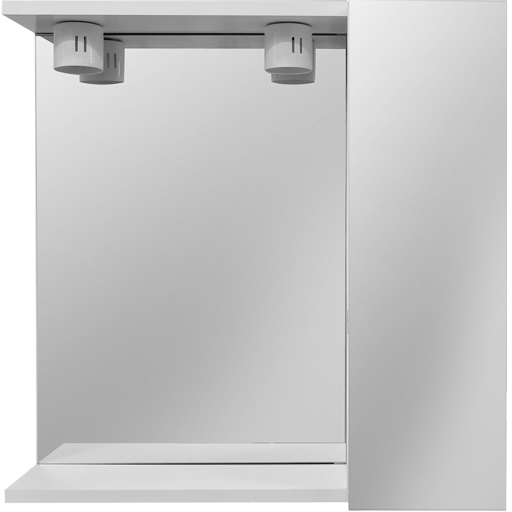 Oglinda baie Savini Due model 937, 2 becuri,  PAL, alb