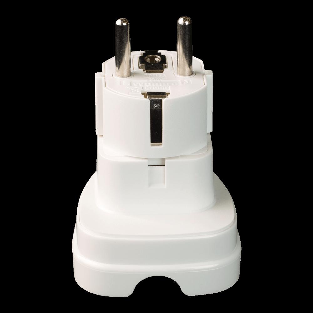 Adaptor de tensiune, universal, 10 A, 250 V