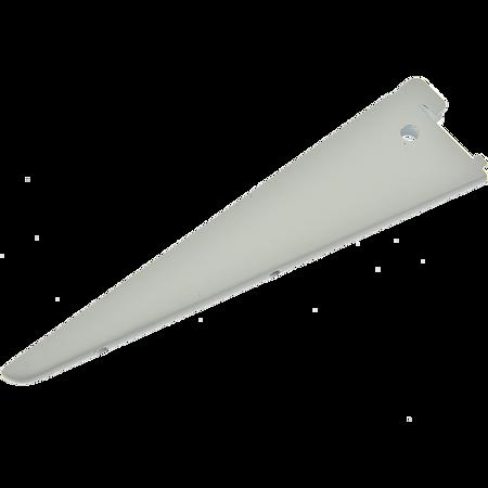 Suport raft U, alb, L: 370 mm