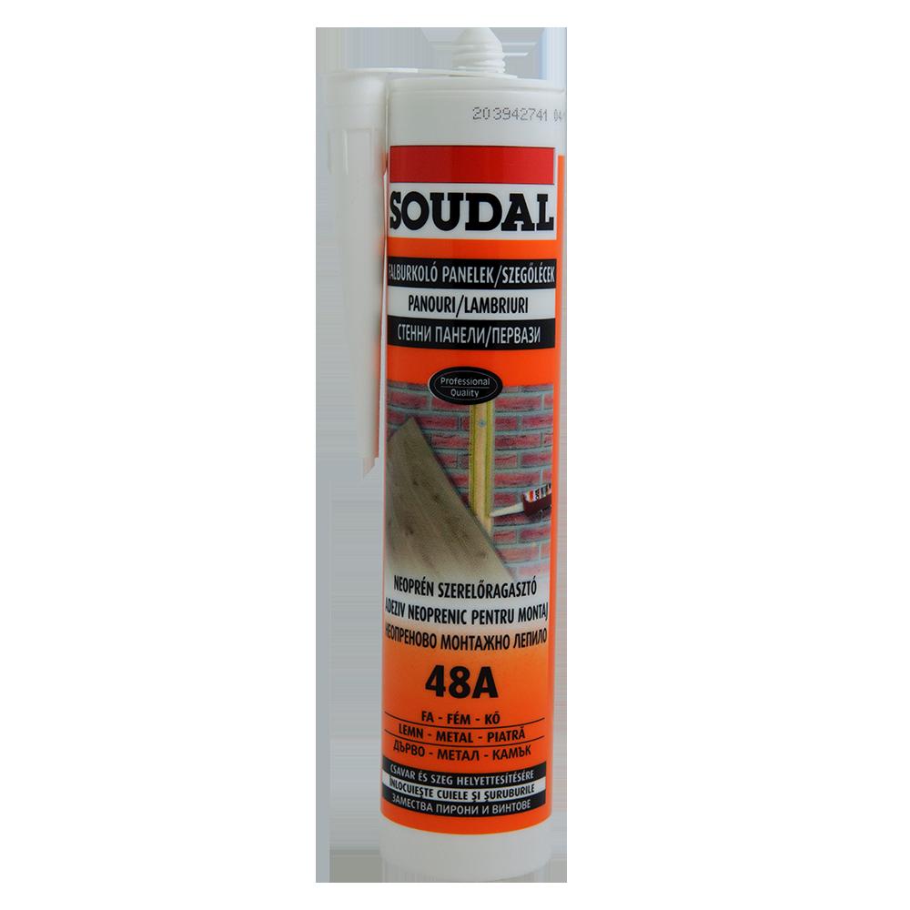 Adeziv pentru montaj Soudal 48A, 280 ml