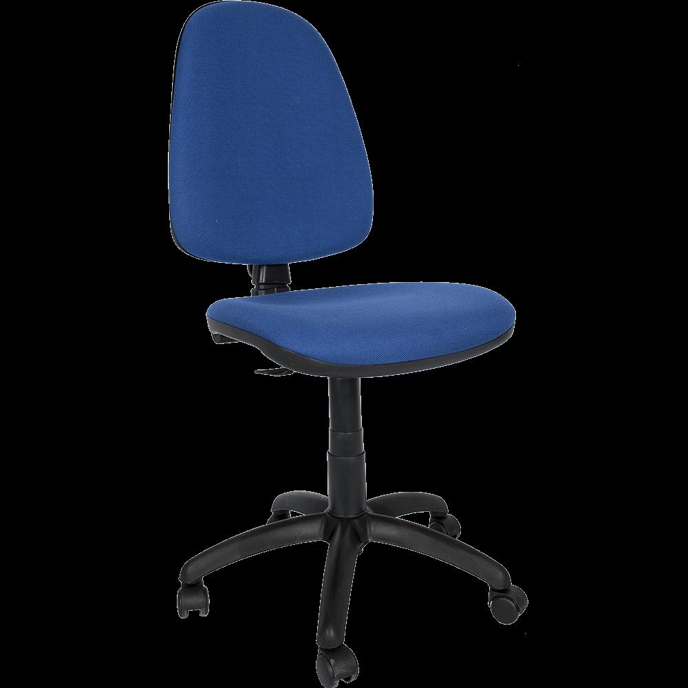 Scaun de birou ergonomic Golf C11, fara brate, albastru imagine MatHaus.ro