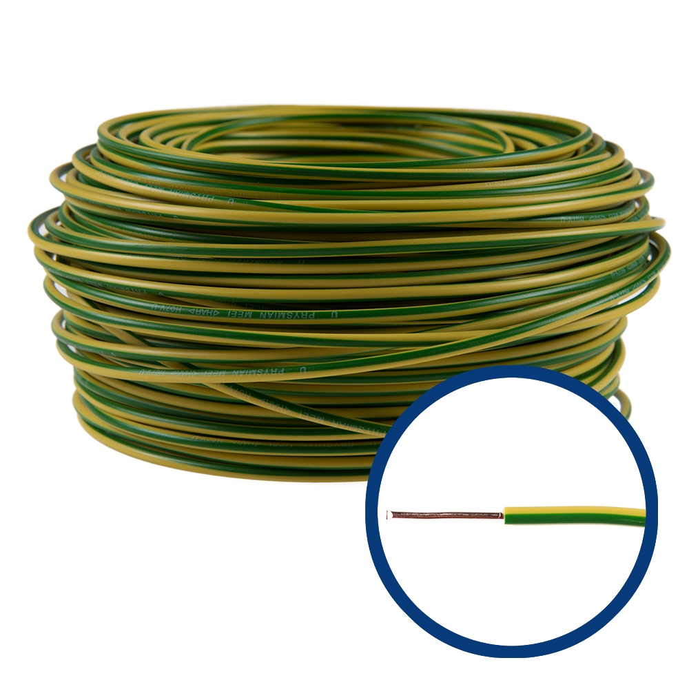 Cablu FY (H07V-U) 2,5 mmp galben-verde