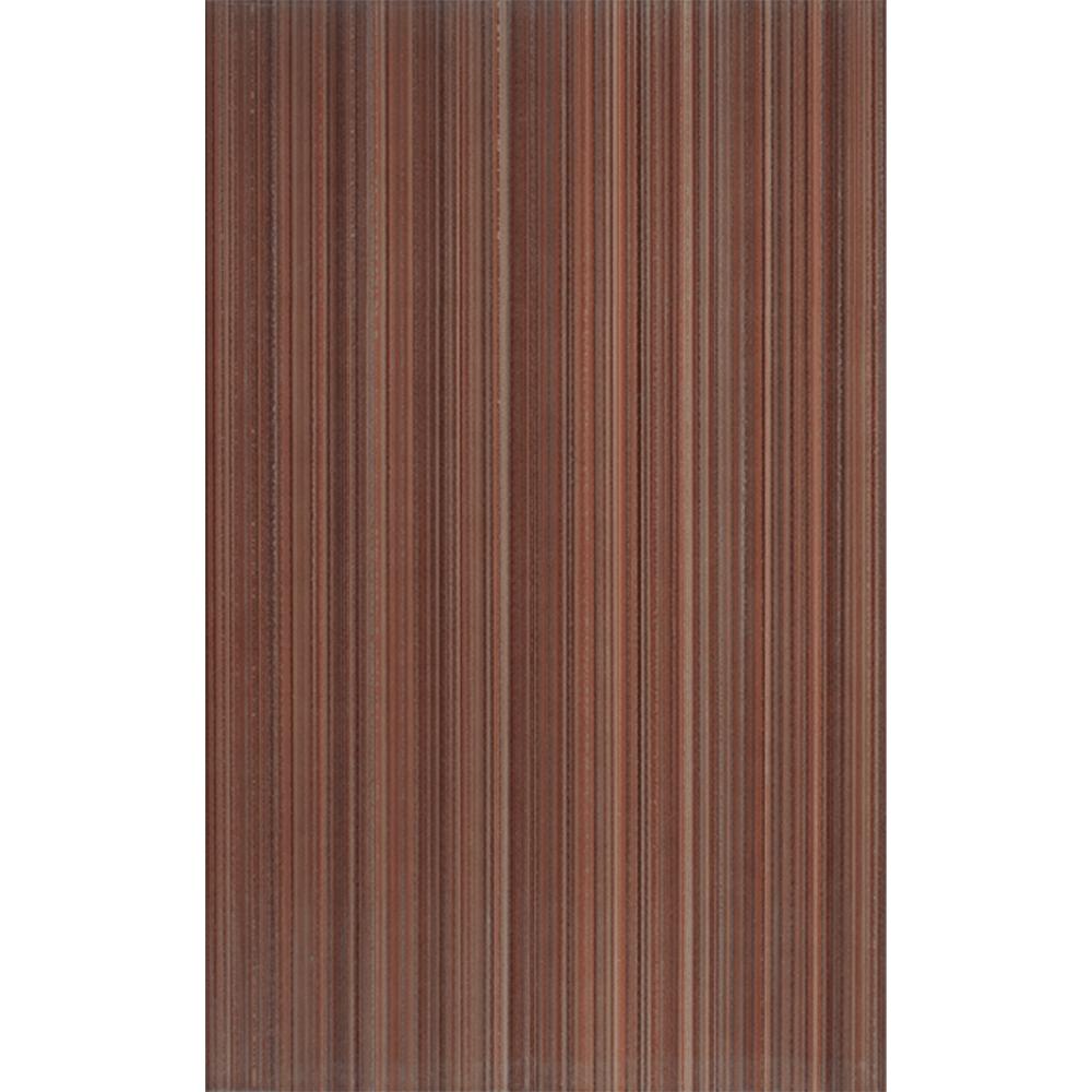 Faianta Kai Ceramics Sorel, maro  cu dungi, aspect lucios, 25 x 40 cm imagine MatHaus.ro