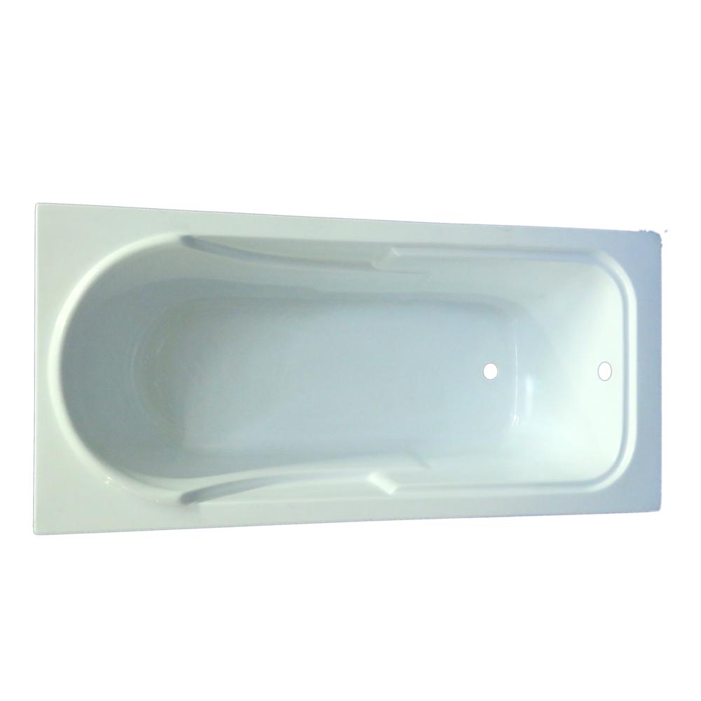 Cada baie Apolo, acril sanitar, alb, 150 x 70 x 38 cm