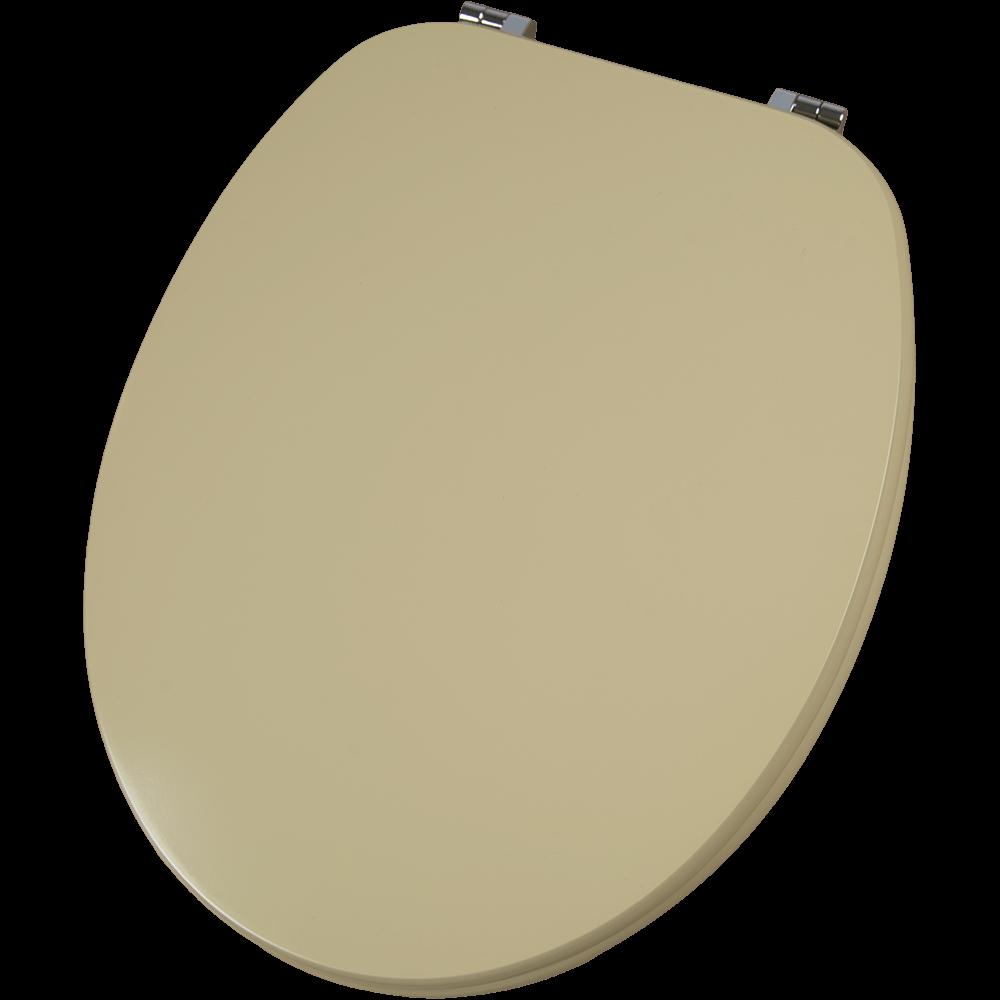 Capac pentru WC Savinidue CWAT01, MDF, crem, balamale metalice