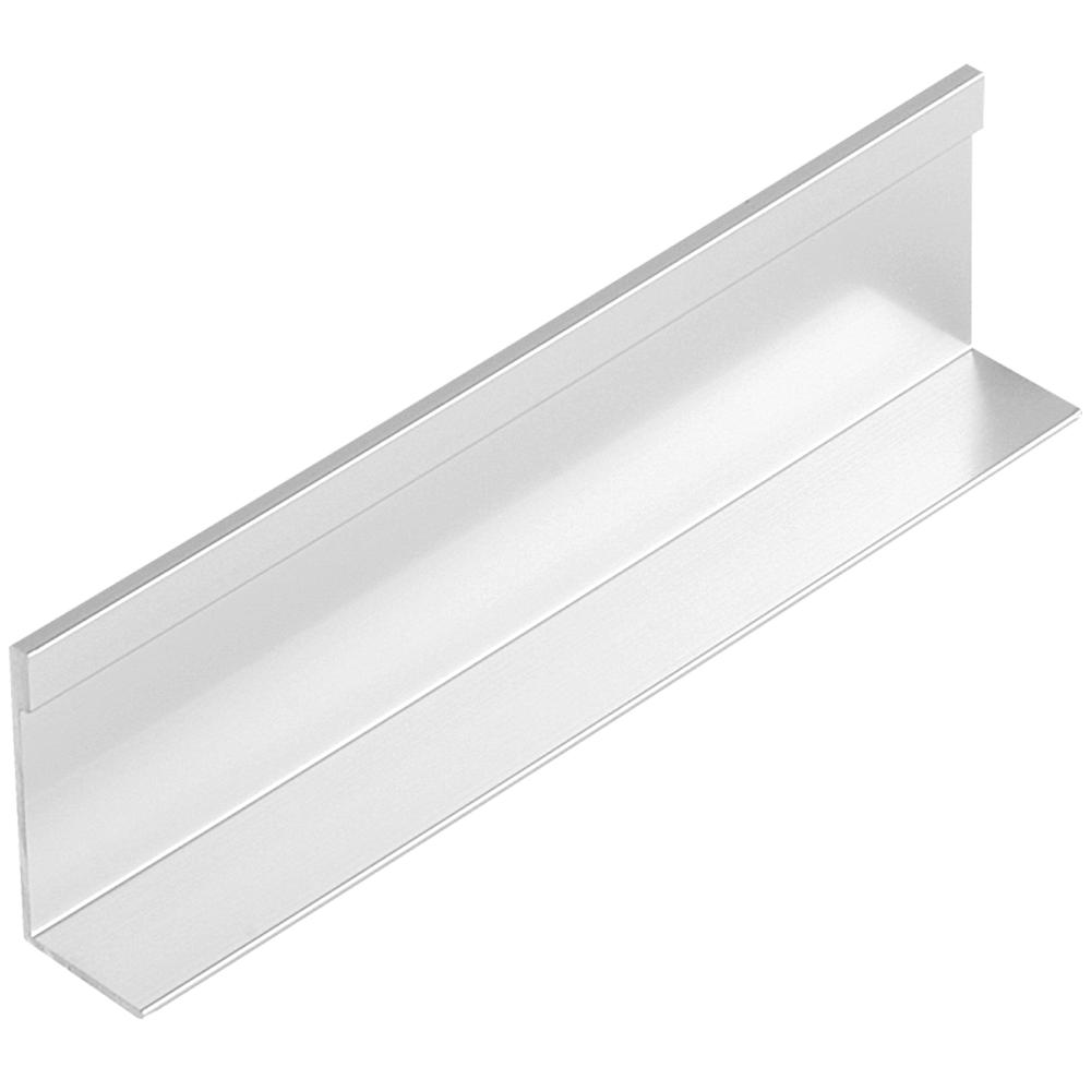 Profil pentru maner din aluminiu Tip L3, 2,5 m imagine MatHaus.ro