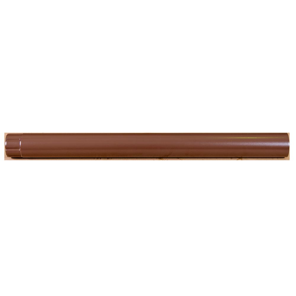 Burlan metalic, 88 mm, maro RAL 8017, L = 1 m
