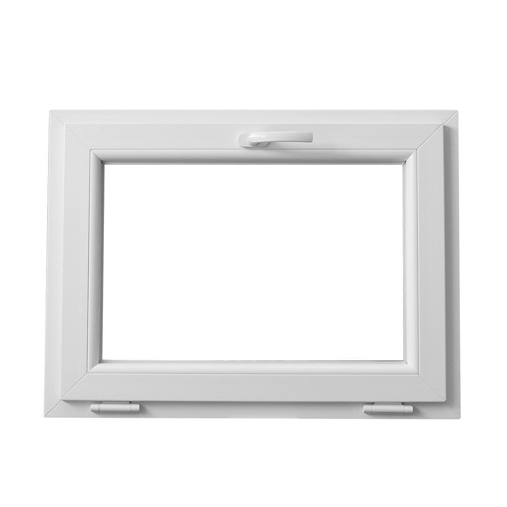Fereastra PVC, 5 camere, alb, 95 x 55 cm imagine MatHaus.ro