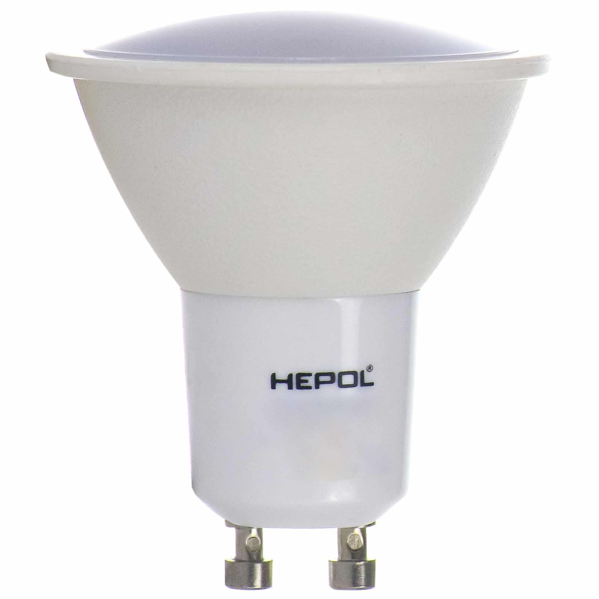 Spot LED Hepol GU10, 6,5W, 500 lm, lumina calda mathaus 2021