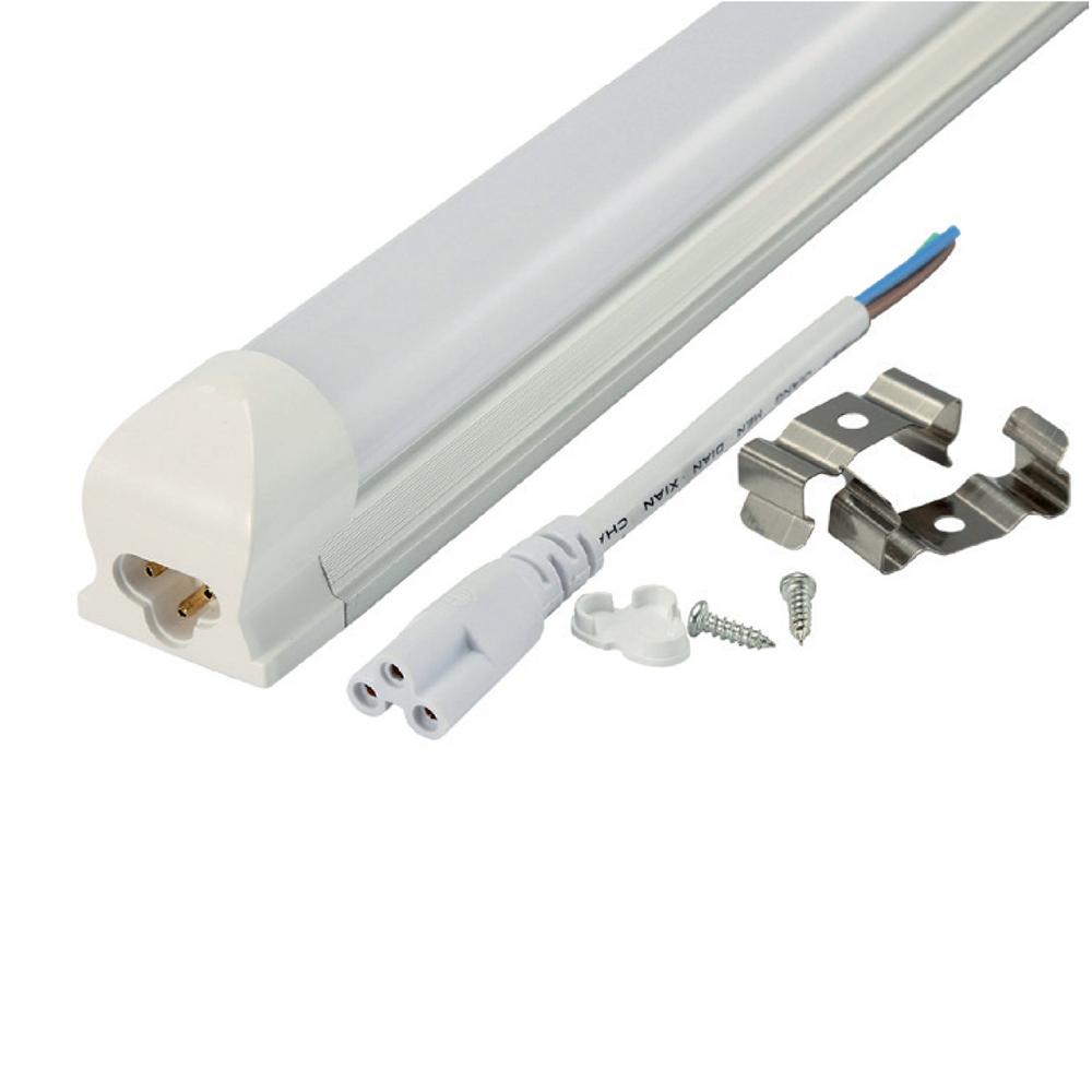 Corp LED Gelux, 10W, 6500K, 38 x 596 x 30 mm, mat imagine MatHaus.ro