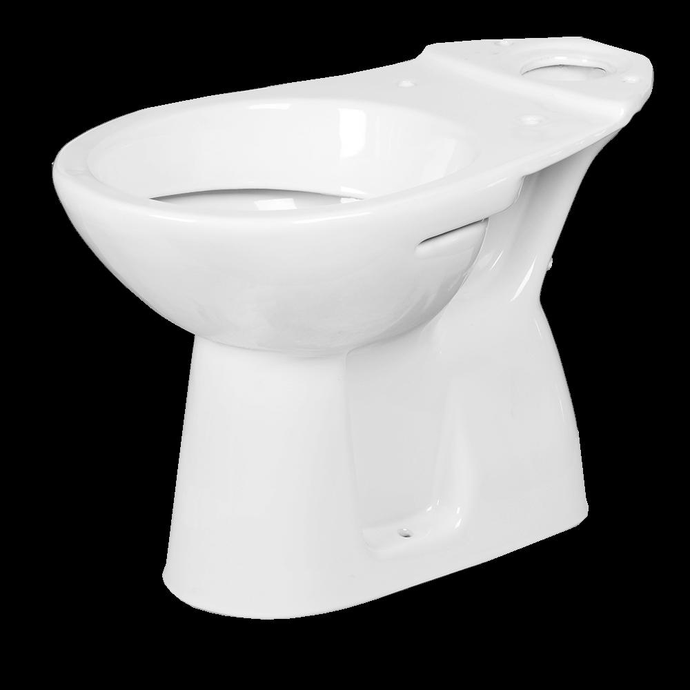 Vas WC duobloc Roca, portelan, evacuare verticala, alb imagine MatHaus.ro