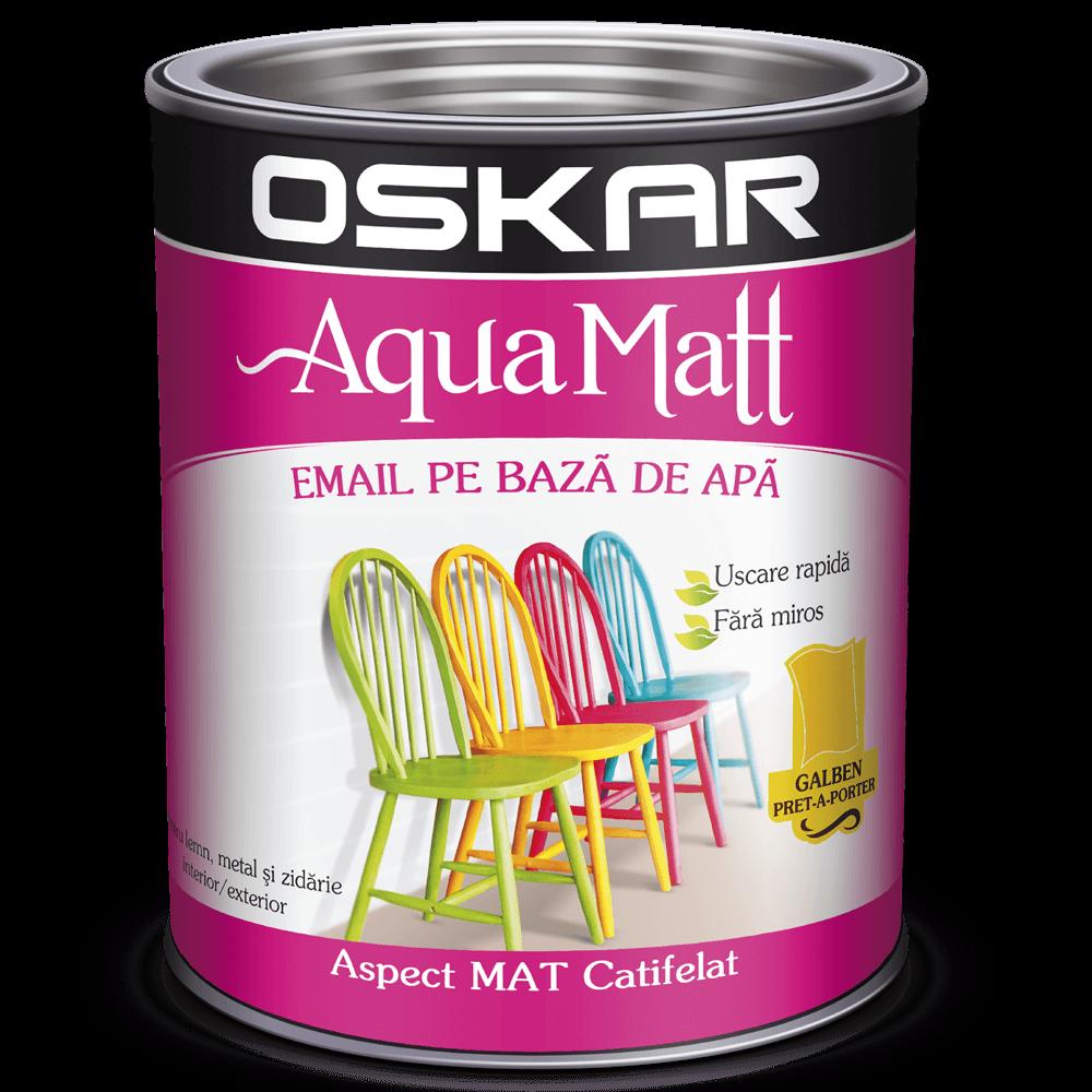 Email Oskar Aqua Matt galben 0,6 L imagine 2021 mathaus