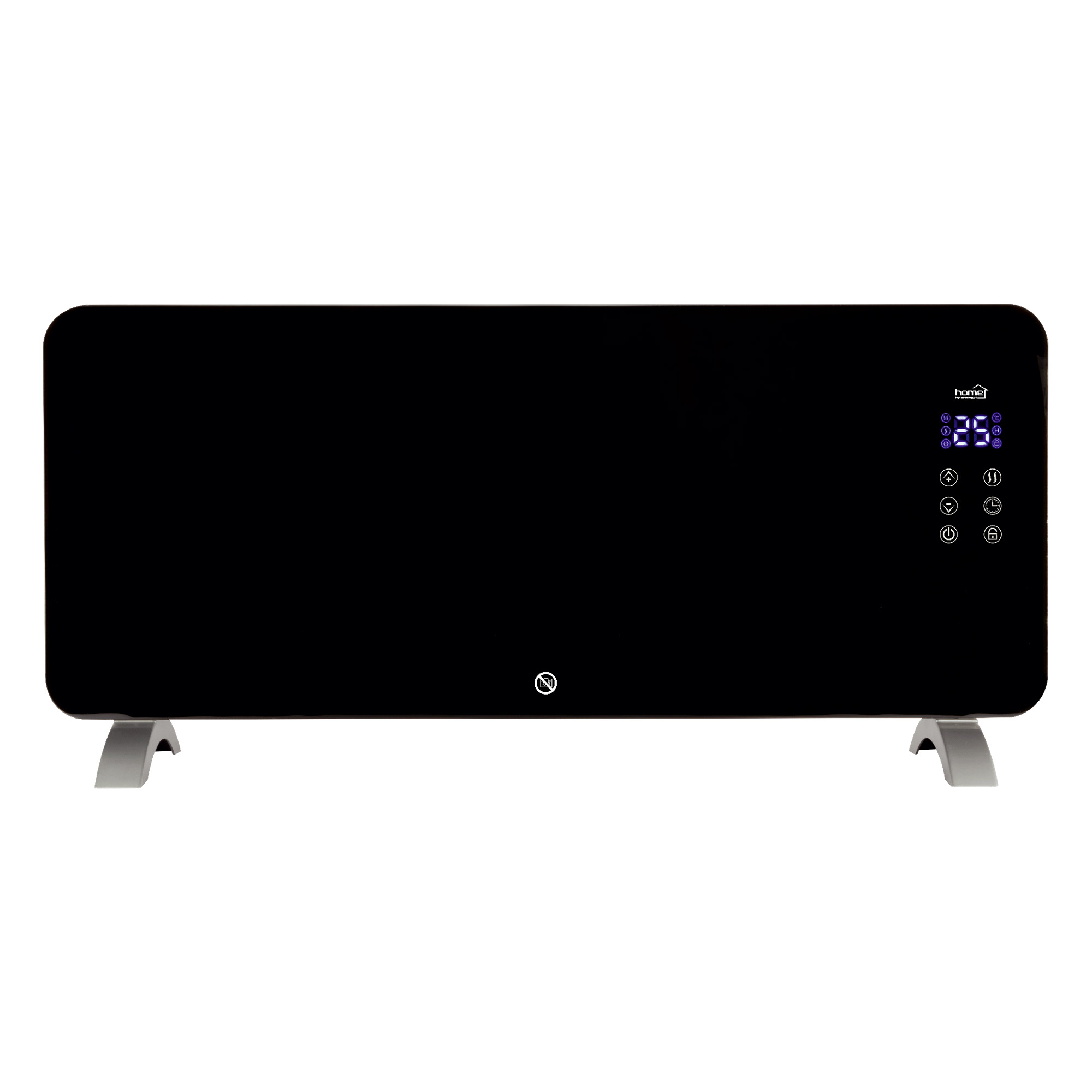Convector electric smart Home by Somogyi  FK 430 , Wifi, 2000W, sticla,  92 x 43 x 24 cm