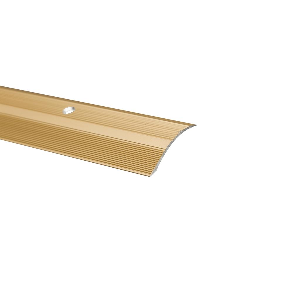 Profil trecere cu diferenta de nivel S05, aluminiu, 2700 x 40 x 7 mm, auriu imagine MatHaus