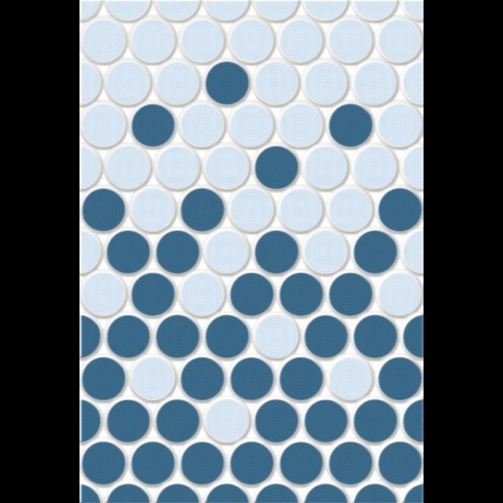 Faianta Blaze albastru deschis-inchis, finisaj lucios, dreptunghiulara, 40 x 27,5 cm imagine 2021 mathaus