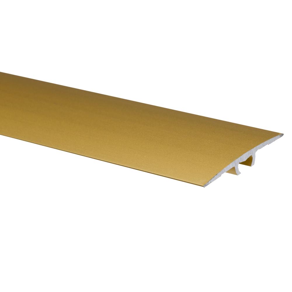 Profil de trecere cu surub mascat cu diferenta de nivel A68 Effector auriu, 0,9 m
