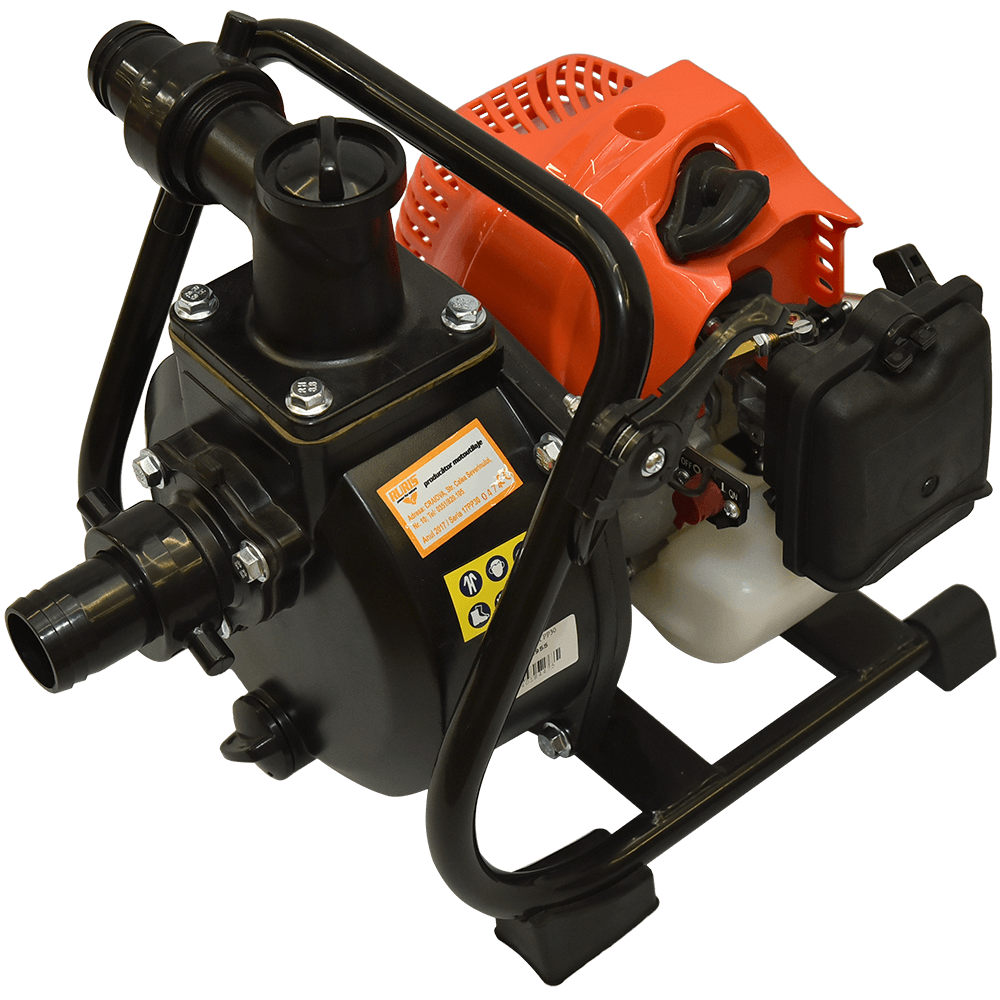Motopompa de apa curata Ruris MP30, pe benzina, motor 2 timpi, 1.7 CP, 15 mc/h imagine MatHaus.ro