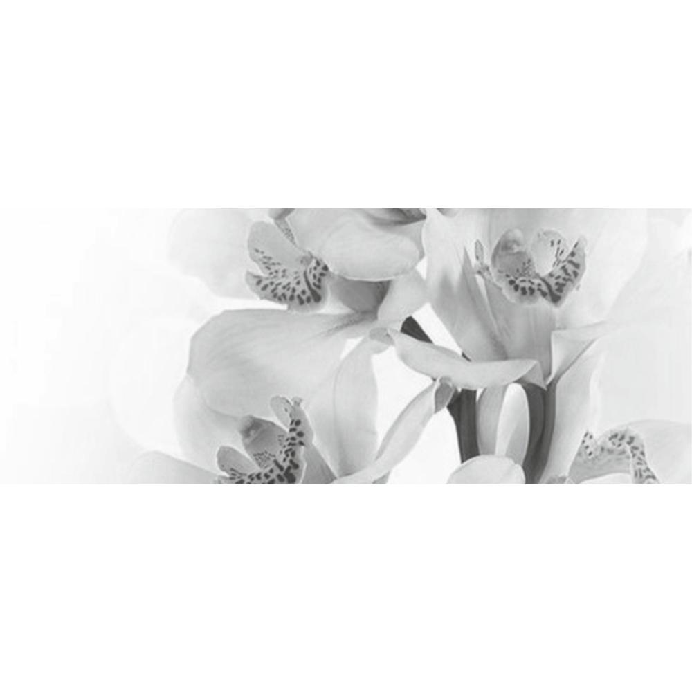 Faianta decorativa Keramin Elegy 7-tip 2, lucioasa, stil elegant, alb/negru, 20 x 50 cm