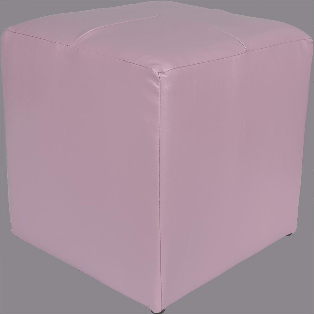 Taburet Cool tapiterie imitatie de piele, lila IP21897, 38 cm inaltime