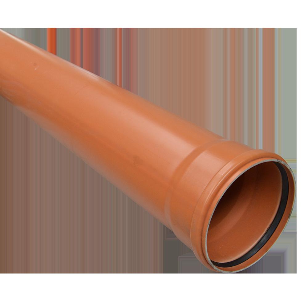 Conducta din PVC SN2 DN 160 mm x 3 m imagine 2021 mathaus
