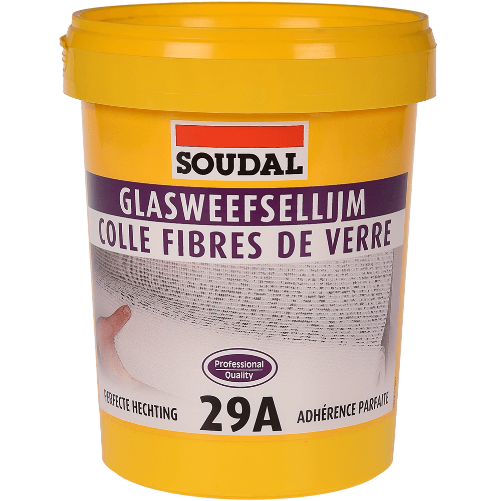 Adeziv pentru tapet si fibra de sticla Soudal 29A, 1 kg