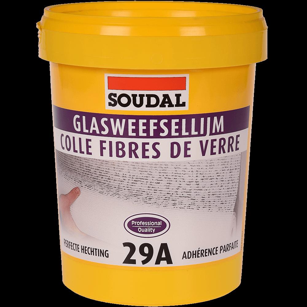 Adeziv pentru tapet si fibra de sticla Soudal 29A, 1 kg imagine 2021 mathaus