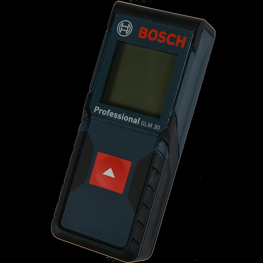 Telemetru Bosch GLM30 Professional cu dioda laser 635nM, 0.15-30 m, deconectare dupa 5 min