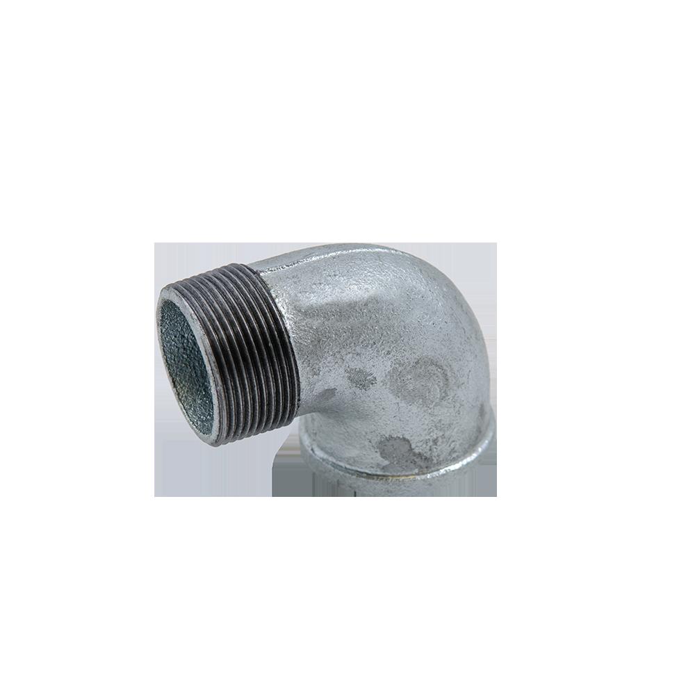 Cot 90°, fonta zincata, FI x FE nr.1 1 1/2 inch mathaus 2021