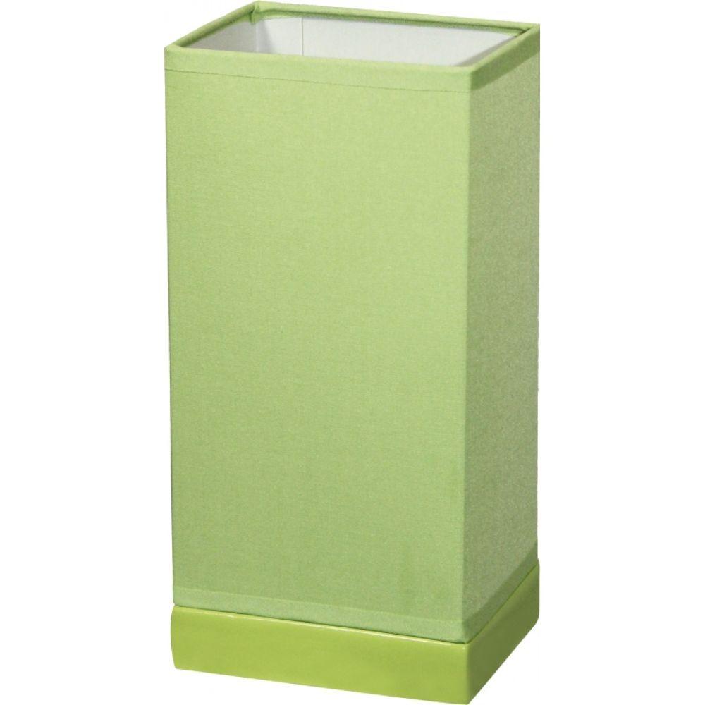 Veioza Kevin KL 0518, ceramica verde, textil, 1 x E14, 4W, 240 mm imagine 2021 mathaus