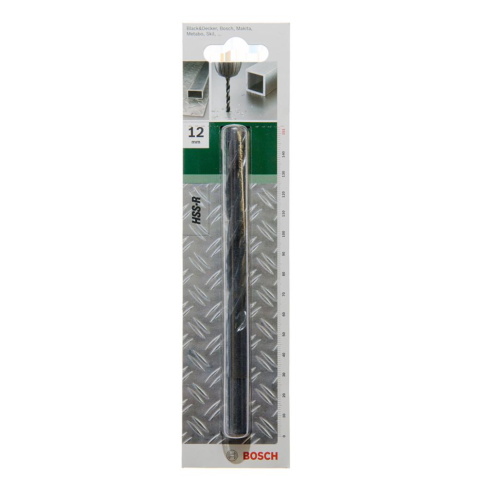 Burghiu Bosch HSS-R DIN 338, mandrina standard, pentru metal, 12 mm