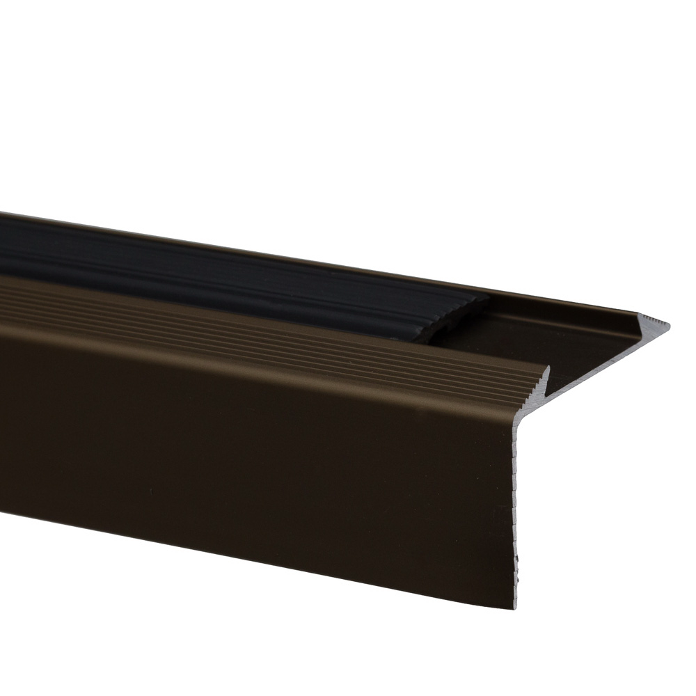 Profil pentru treapta cu banda antiderapanta S38, Set Prod, bronz, 46 mm x 2,7 m imagine 2021 mathaus