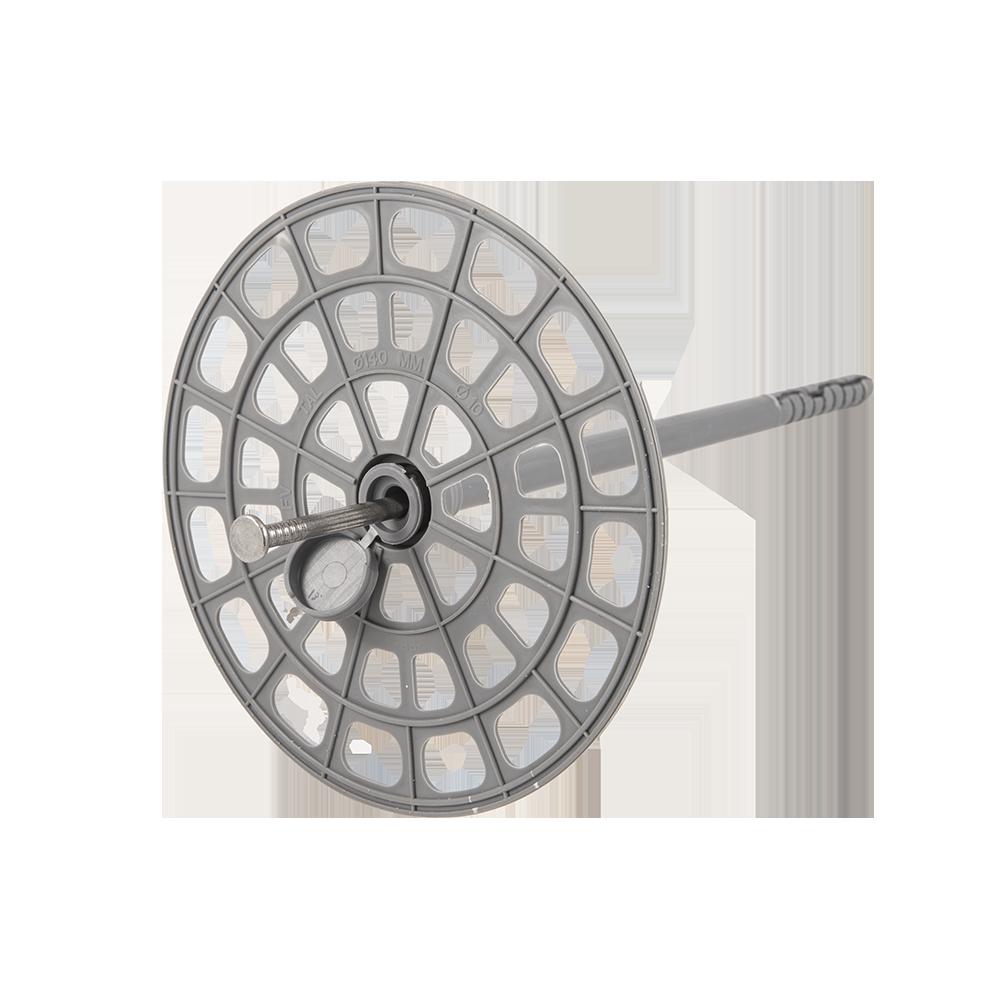 Ansamblu fixare vata bazaltica, 200 mm, flansa + cilindru + tija