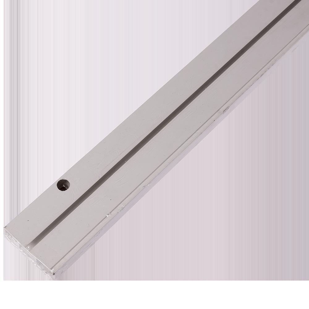Sina perdea tavan SH1, PVC alb, 1 canal, 200 cm mathaus 2021