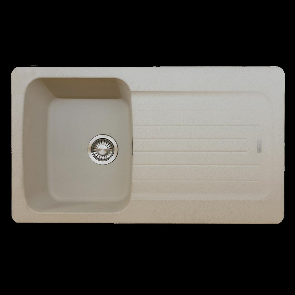 Chiuveta de bucatarie Franke ADV 611-96, nuanta Avena, tectonite, 860 x 500 mm imagine MatHaus