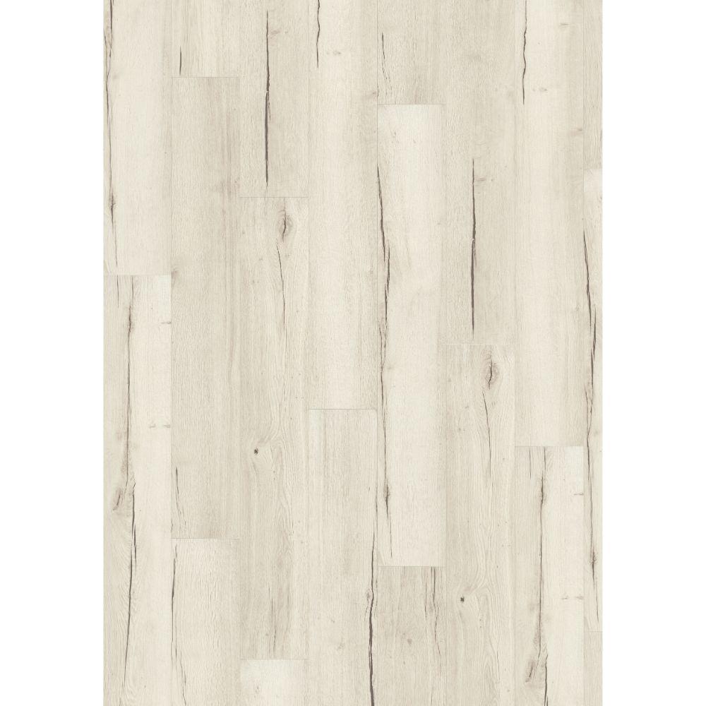 Parchet laminat 8 mm, stejar alb, white Creston Oak Egger, clasa de trafic AC4, 1291x193 mm mathaus 2021