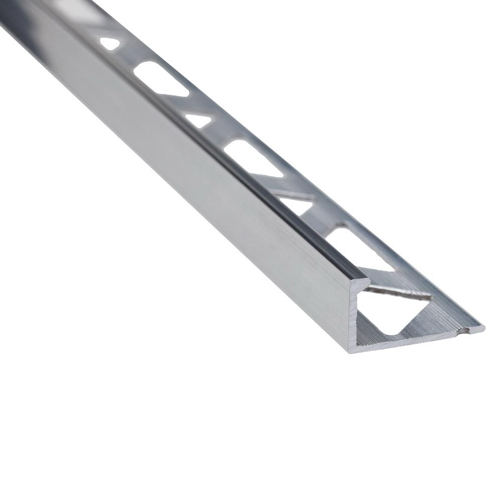 Profil de terminatie pentru faianta Set Prod S51 aluminiu, natur, 10 mm imagine 2021 mathaus