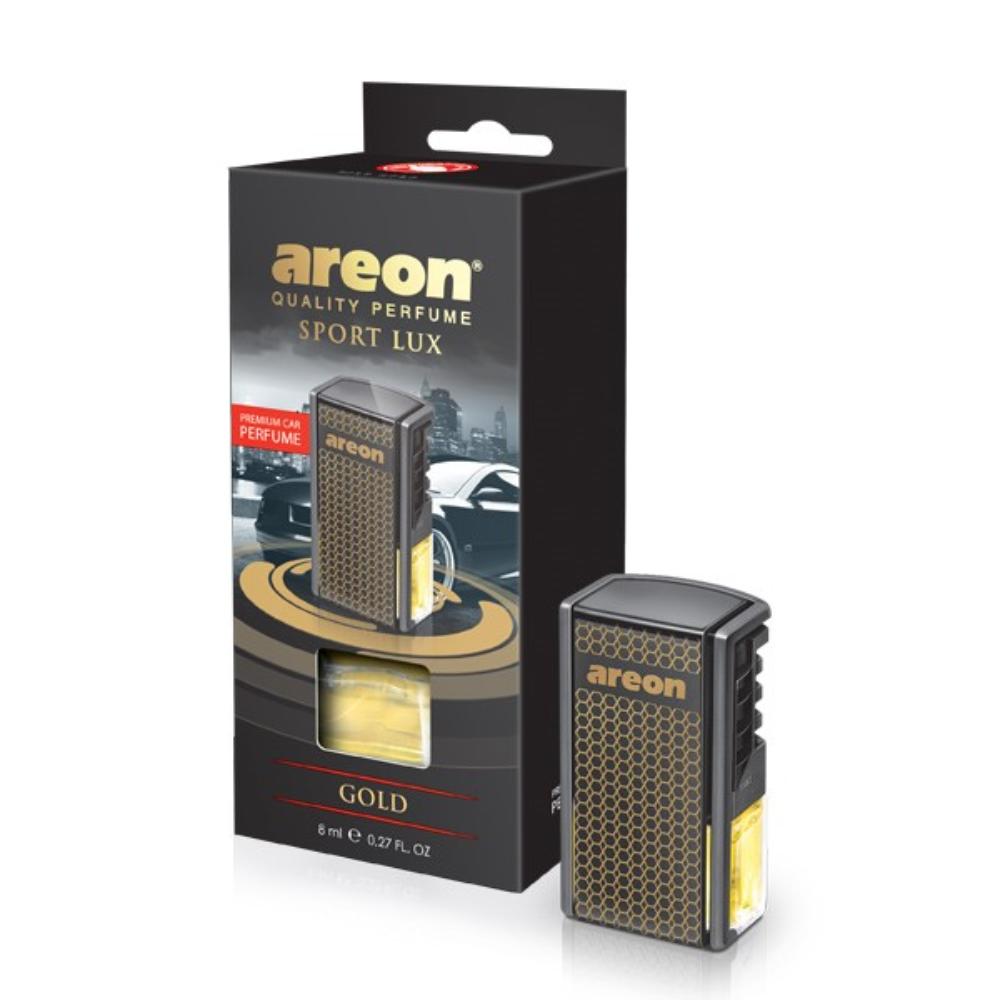 Odorizant auto Areon Car, black Gold, 8 ml imagine MatHaus.ro