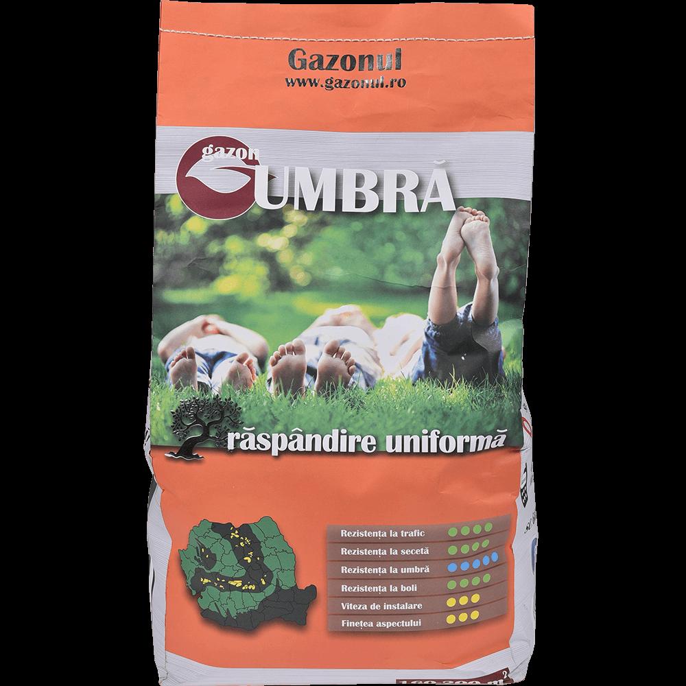 Seminte pentru gazon Umbra, suprafata 160 mp, 4 kg