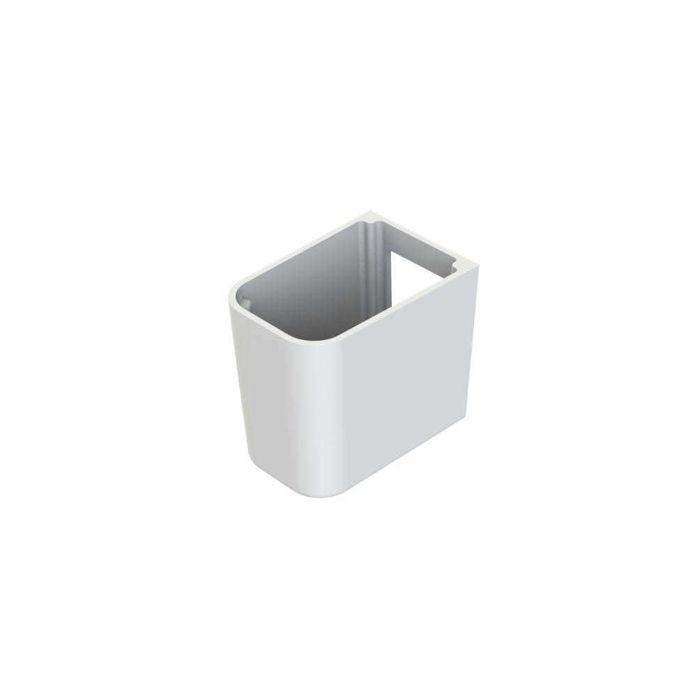 Semipiedestal Menuet Noura, alb, inaltime 280 mm, latime 210 mm imagine 2021 mathaus