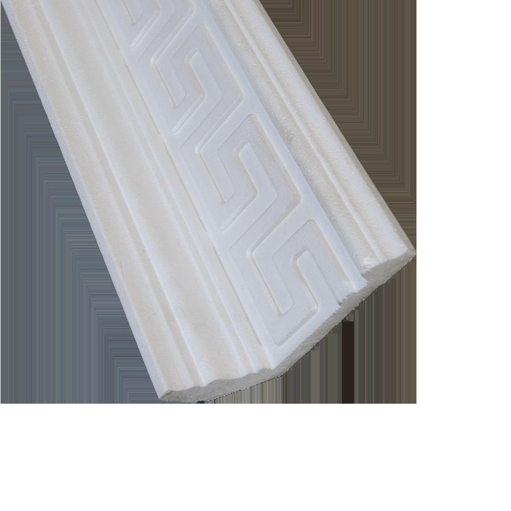 Bagheta decorativa DP163, polistiren extrudat, 2 m imagine 2021 mathaus